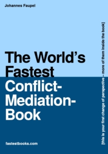 Fastest mediation-book for deep conflicts