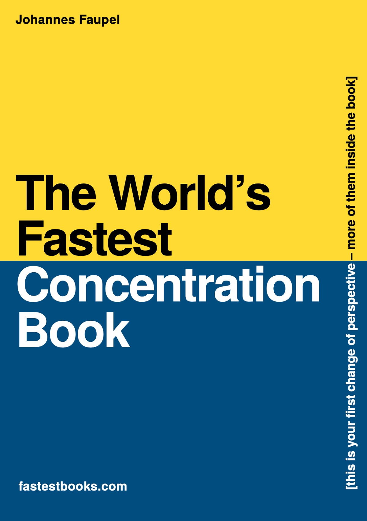 The World's Fastest Concentration Book